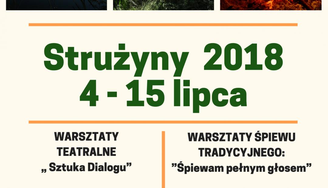 Strużyny 4-15 lipca  2018 rok